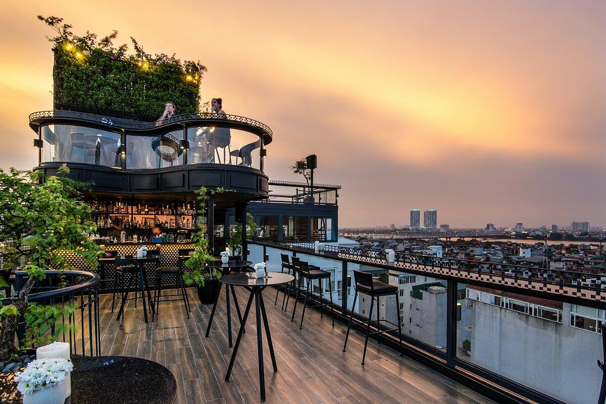 河內4間酒店天台被評為頭25名世界上最美麗酒店