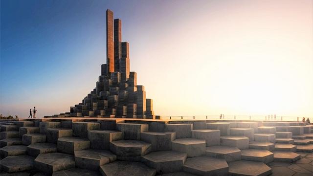 迎風塔——富安省旅遊的新象徵