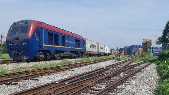 首列從越南往比利時的集裝箱列車正式開行