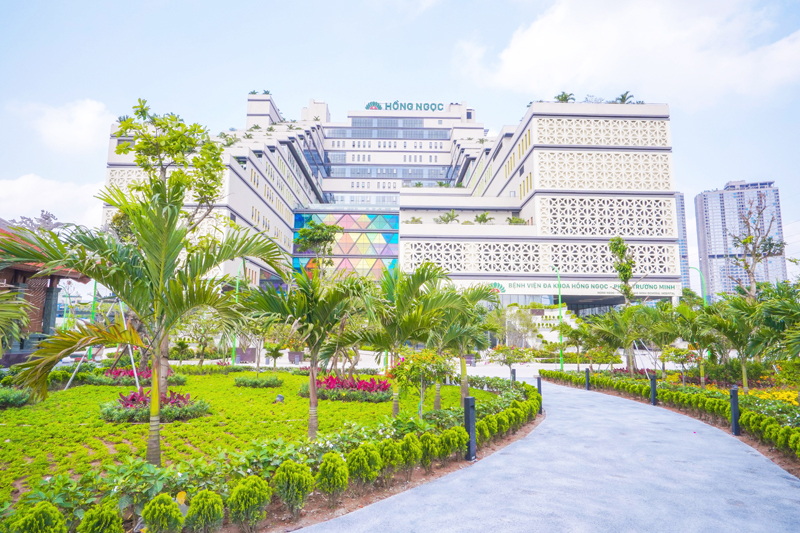 Bệnh viện Hồng Ngọc Phúc Trường Minh hoạt động